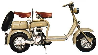 Lambretta 150 D Type